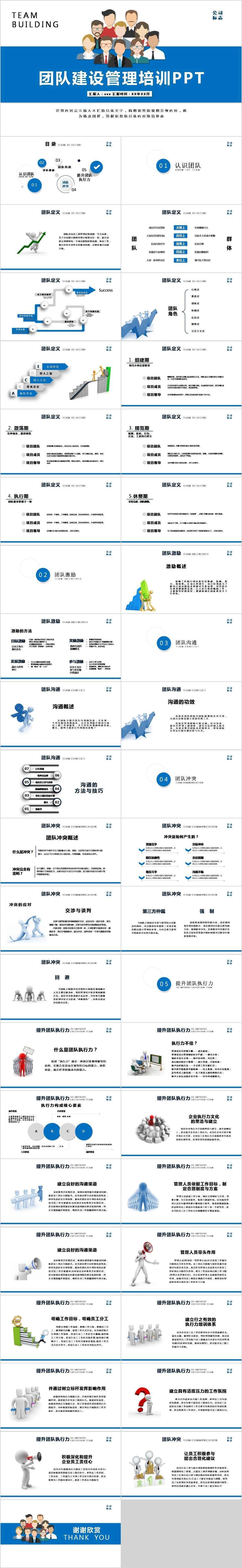 人力资源学习网_公司人力资源团队建设与管理培训通用ppt-PPT模板-图创网