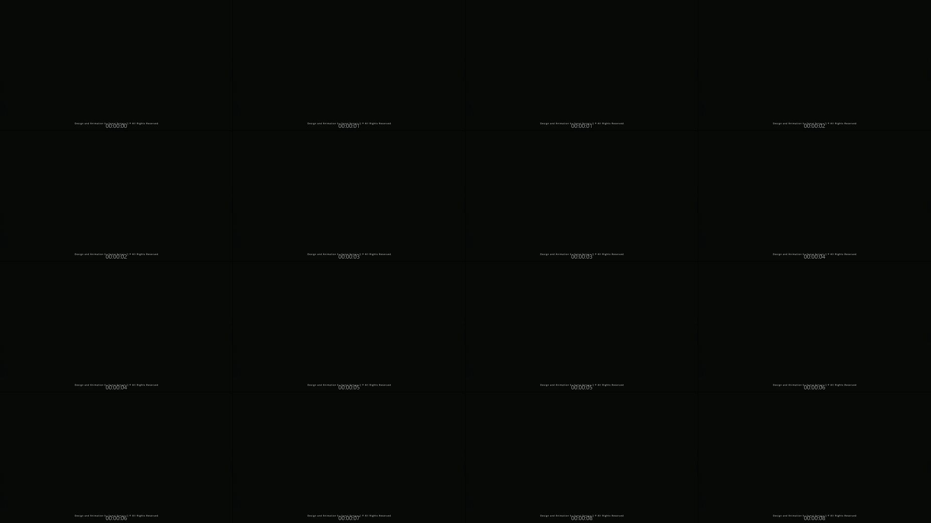 未来科技HUD科幻logo标志开场片头